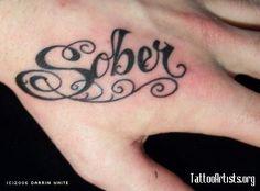 Sober Tattoo  #hawaiirehab  www.hawaiiislandrecovery.com