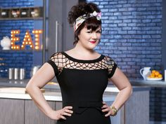 This girl's kinda cool; she's a butcher by trade. // Food Network Star, Season 10: Loreal Gavin - FoodNetwork.com