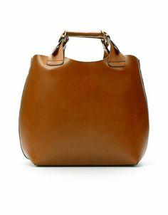 Gorgeous leather bag - Zara