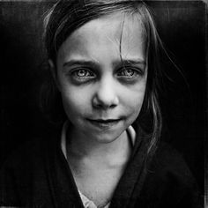 portrait of a homeless girl  lee jeffries