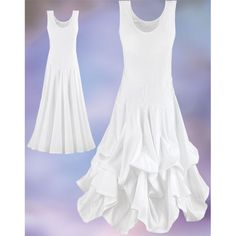 White Crystal Dress - New Age, Spiritual Gifts, Yoga, Wicca, Gothic, Reiki, Celtic, Crystal, Tarot at Pyramid Collection