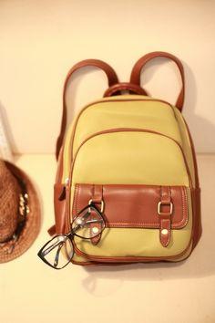 Korean official website school wind backpack