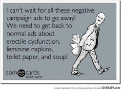 Political advertising...