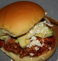 Recipe For Tex Mex Sloppy Joes