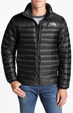 This is great! Water-resistant, quilted jacket.