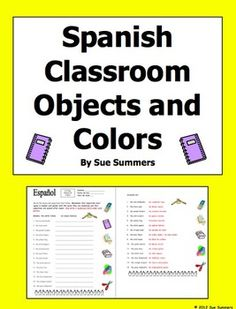 spanish 50 classroom commands and total physical response tpr by sue summers actividades. Black Bedroom Furniture Sets. Home Design Ideas