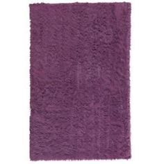 Home Decorators Collection Faux Sheepskin Purple 3 ft. x 5 ft. Area Rug-5248210710 at The Home Depot area rug