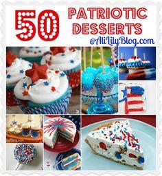 Patriotic Dessert Round up