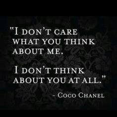 #Wisdom #Quotes #CocoChanel