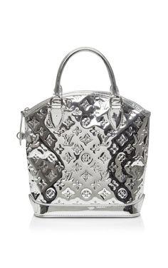 Vintage Louis Vuitton Silver Miroir Lockit PM by Vintage Louis Vuitton for Preorder on Moda Operandi