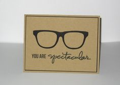 Funny Thank You Thinking of you Geek Nerd by GlitterInkCards, $4.00