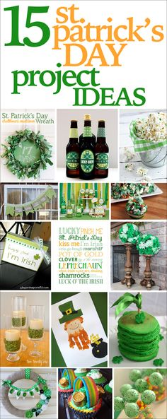 St. Patrick's Day project ideas!