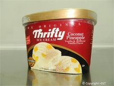 Coconut Pineapple - Thrifty Ice Cream Flavor