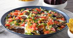 Weight Watchers Mexican Dip - I love a mexican dip!