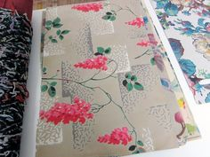 Antique wallpapers purchased from a flea market in Paris. | Joanna Williams, Kneeland Co.