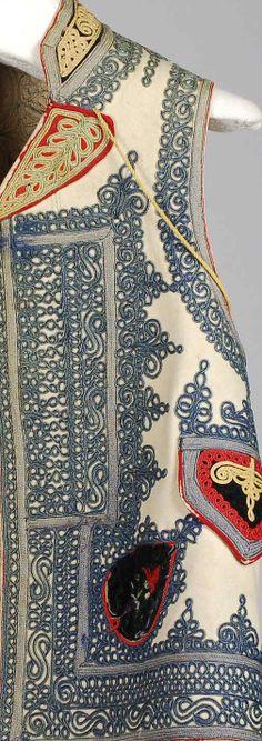 Vest Date: fourth quarter 19th century Culture: Hungarian Medium: Wool, silk, cotton