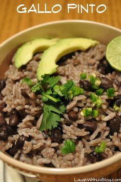 Gallo Pinto on Pinterest | Nicaraguan Food, Nicaraguan ...