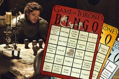 Game of Thrones Bingo