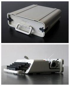 Portable typewriter by Ettore Sottsass - Olivetti
