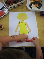 I can dress myself - paper dolls and clothing...