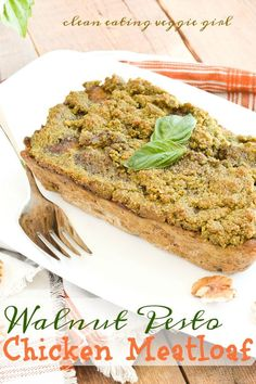 Walnut Pesto Chicken