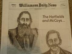 Hatfield and Mccoy feud newspaper reissue