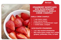 Succulent strawberries and waves of vanilla creme... what could be sweeter than that?