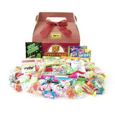 .#4: Candy Crate 1980's Retro Candy Gift Box.