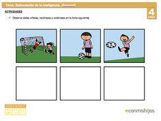 Ficha de estimulación de la inteligencia para niños