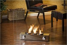 Portable Gel Fireplace $158