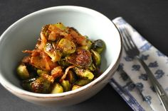 Brussels Sprouts and Bacon (Paleo/AIP/Whole30)