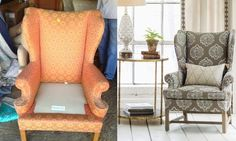 3 Eye-Popping Upholstered Chair Transformations » Curbly   DIY Design Community