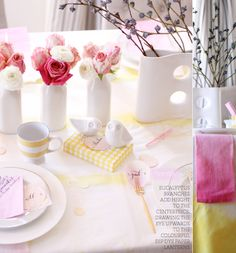 Tablescape 101: Spring Brunch (Yellow & Pink) – Bright.Bazaar