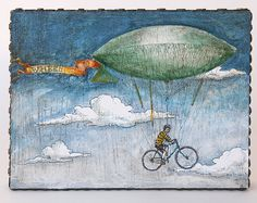Bicycle Airship Orig