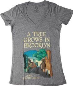A Tree Grows In Brooklyn T-Shirt on www.amightygirl.com