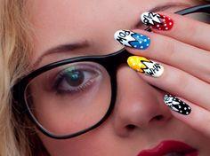 Superhero Nail Art