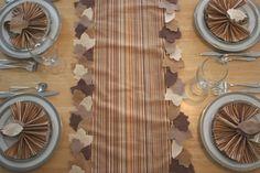 Fall Leaf Table Runner