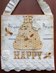 Paper Issues: Be Happy Sign