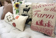 Mix and match pillows from HomeGoods for the finishing touch! #HomeGoodsHappy