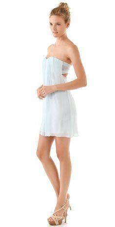 silk chiffon drape dress--Gorgeous