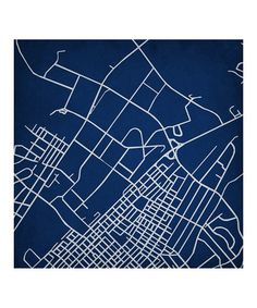 Campus Art by City Prints | I always wanted to make a city print of Zwickau.