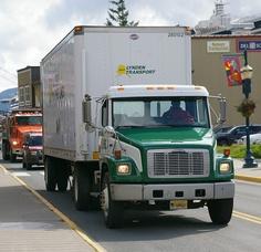 Juneau AK-Freightliner- Lynden Transport 25/8/2010 by scotrailm, via Flickr
