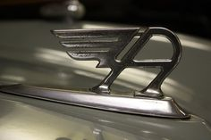 Austin A40 Hood Ornament