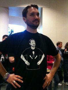 I <3 Wil Wheaton! --- Great photo!