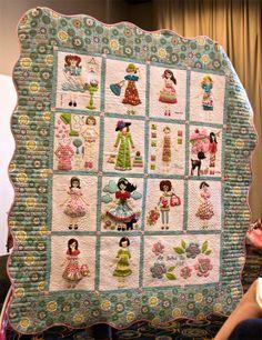 Adorable quilt.
