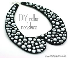 iLoveToCreate Blog: How-to Make a DIY Collar Necklace