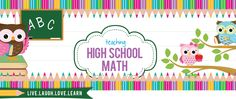 A blog about the adventures of teaching high school math.