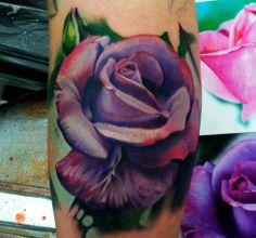 Rose Tattoo By Matt Jordan