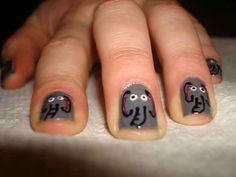 Elephants | 14 Insanely Cute Animal Nail Art