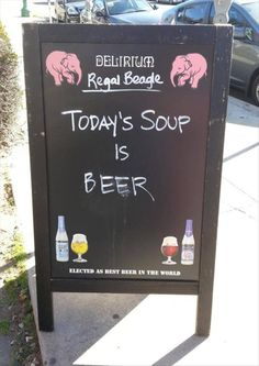 soups, today soup, laugh, funny pictures, funni, drink, beagles, beer sign, places